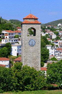 IBXFSC04938351 Clock tower Sat kula, Ulcinj, Montenegro, Europe