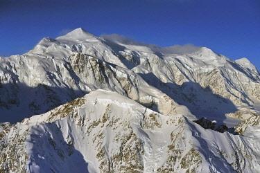 IBXGEK04796593 Mount Logan Summit, 5959 m, Canada's highest mountain, St. Elias Mountains, Icefield Ranges, Yukon Territory, Canada, North America