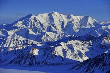 IBXGEK04796595 Mount Lucania, 5240 m, St. Elias Mountains, Icefield Ranges, Yukon Territory, Canada, North America
