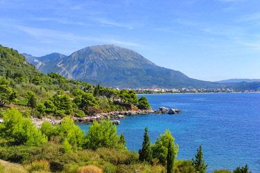 IBXMAN04796569 Coast at Crvanj Beach, Bar, Adriatic Coast, Montenegro, Europe