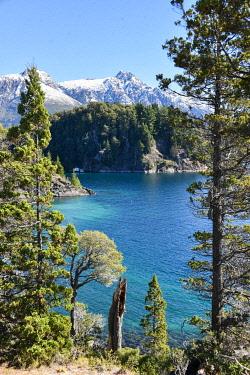 IBXMEA04796541 Lake Lago Nahuel Huapi near Bariloche, Ruta 40, Patagonia, Argentina, South America