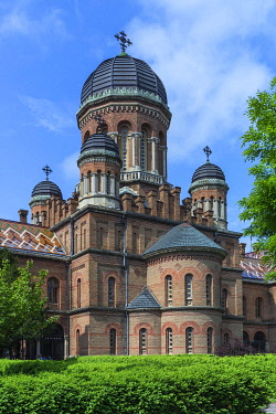 IBXMZC04959850 Faculty of Geography building in the Archbishop's Residence, National Jurij Fedkowytsch University, Czernowicz, Ukraine, Europe