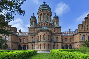 IBXMZC04959851 Faculty of Geography building in the Archbishop's Residence, National Jurij Fedkowytsch University, Czernowicz, Ukraine, Europe