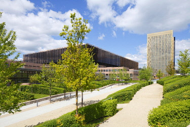 IBXTOK04973797 European Court of Justice building complex, EU building, Kirchberg Centre, Luxembourg City, Luxembourg, Europe