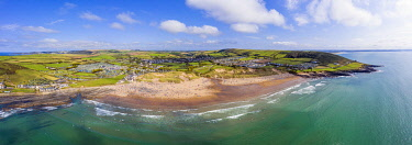 UK08642 Croyde beach, Croyde, North Devon, England