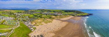 UK08645 Croyde beach, Croyde, North Devon, England
