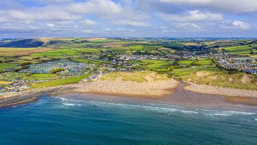 UK08647 Croyde beach, Croyde, North Devon, England
