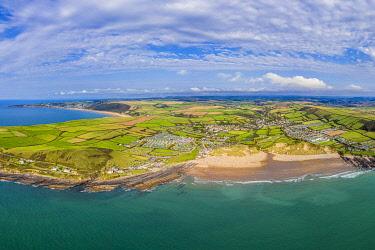 UK08648 Croyde beach, Croyde, North Devon, England