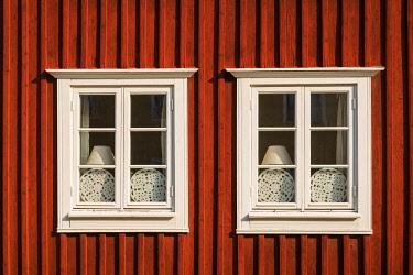 SW03134 Sweden, Southeast Sweden, Kalmar, town building detail