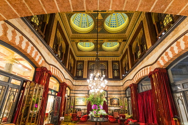 TK01672 The historic, luxury Pera Palace hotel, Beyoglu district, Istanbul, Turkey