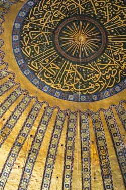 TK01679 Hagia Sofia (Byzantine basilica and UNESCO World Heritage Site), Sultanahmet, Istanbul, Turkey