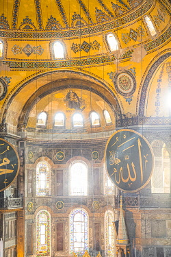TK01681 Hagia Sofia (Byzantine basilica and UNESCO World Heritage Site), Sultanahmet, Istanbul, Turkey