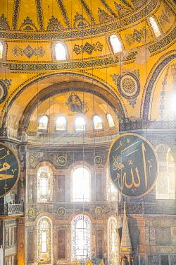 TK01681 Hagia Sofia (Byzantine basilica and UNESCO World Heritage Site), Sultanahmet, Istanbul, Turkey
