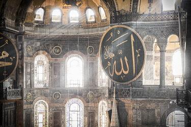 TK01682 Hagia Sofia (Byzantine basilica and UNESCO World Heritage Site), Sultanahmet, Istanbul, Turkey
