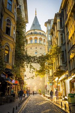 TK01719 Galata Tower, Beyoglu, Istanbul, Turkey