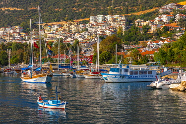 TK09447 Kas Harbour, Kas, Turkey