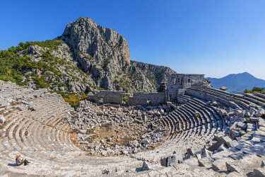 TK09456 Theatre, Termessos, Turkey