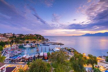 TK09504 Old Harbour at Dusk, Kaleici, Antalya, Turkey