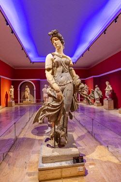 TK09513 Statue of a Dancing Woman, Antalya Archeological Museum, Antalya, Turkey