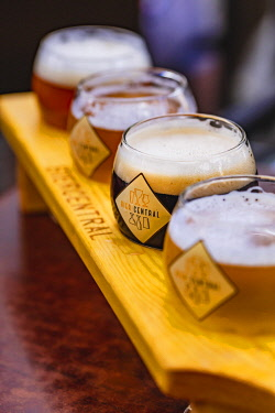 BEL1918AW A selection of Belgian beers, Belgium