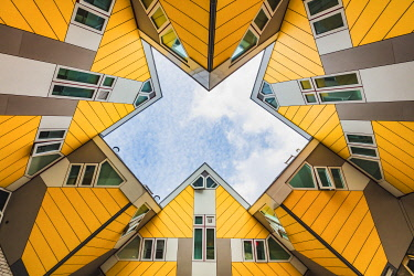 NLD1066AW Cubic Houses (Kubuswoning) by Piet Blom, Rotterdam, Holland/Netherlands