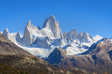 ARG3129AW Close-up of Fitz Roy mountain, Los Glaciares National Park, El Chalten, Santa Cruz Province, Argentina