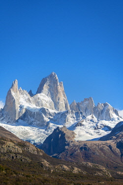 ARG3130AW Close-up of Fitz Roy mountain, Los Glaciares National Park, El Chalten, Santa Cruz Province, Argentina