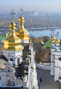UA01121 Ukraine, Kyiv, Pechersk Lavra, Monastery of the Caves, Orthodox Christian Monastery, Preeminent Center Of Eastern Orthodox Christianity, Named One Of The Seven Wonders Of Ukraine, UNESCO World Heritag...