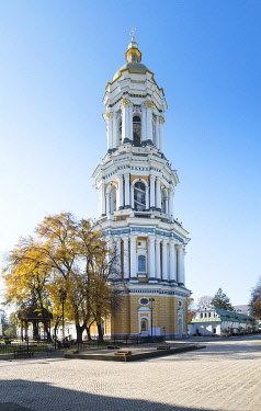 UA01123 Ukraine, Kyiv, Pechersk Lavra, Great Lavra Belltower, Monastery of the Caves, Orthodox Christian Monastery, Preeminent Center Of Eastern Orthodox Christianity, Named One Of The Seven Wonders Of Ukrain...