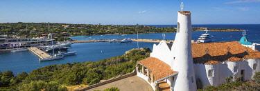 IT12454 Italy, Sardinia, Costa Smeralda, Porto Cervo, Stella Maris Church