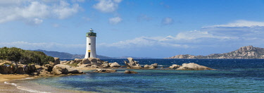 IT12462 Italy, Sardinia, Palau, Porto Faro Lighthouse