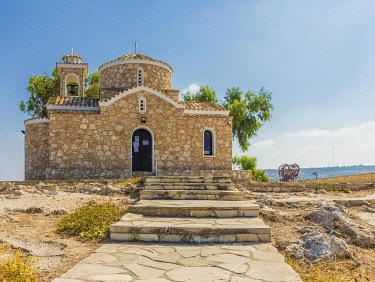 CYP0243AWRF Church of Profitis Elias, Protaras, Paralimni,Cyprus