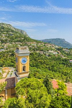 FRA11763AWRF The Church Notre Dame de l'Assumption ,Eze, Alpes-Maritimes, Provence-Alpes-Cote D'Azur, French Riviera, France