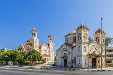 CYP0180AW Agia Faneromeni church in Larnaca, Cyprus