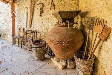 CYP0207AW Folk Museum in Lania, Cyprus