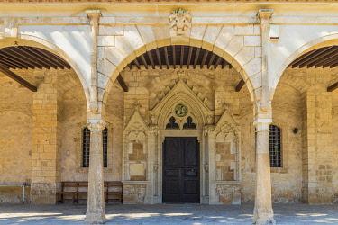 CYP0228AW Agios Georgios Old Church, paralimni, Cyprus