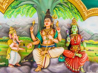 MAY0315AW Sri Maha Mariamman temple in Kuala Lumpur, Malaysia