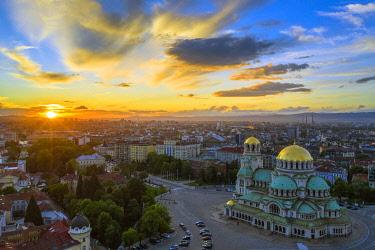 BUL0434 Europe, Bulgaria, Sofia, Alexander Nevsky Russian orthodox cathedral