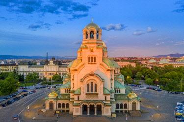 BUL0436 Europe, Bulgaria, Sofia, Alexander Nevsky Russian orthodox cathedral