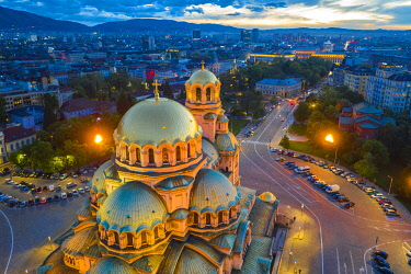 BUL0437 Europe, Bulgaria, Sofia, Alexander Nevsky Russian orthodox cathedral