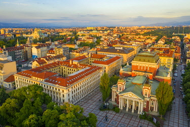 BUL0439 Eastern Europe, Bulgaria, Sofia, Ivan Vazov National Theatre