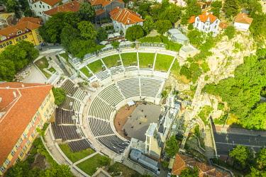 BUL0442 Europe, Bulgaria, Plovdiv, Plovdiv Roman Stadium