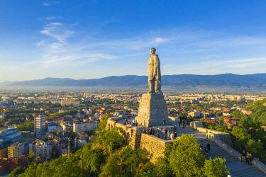BUL0445 Europe, Bulgaria, Plovdiv, statue of Alyosha. a Soviet soldier on Bunarjik Hill