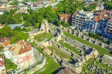 BUL0455 Europe, Bulgaria, Varna, thermal bath roman ruins