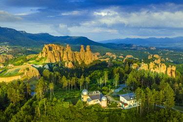 BUL0463 Europe, Bulgaria, Belogradchik, Kaleto Rock Fortress and observatory