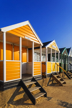 TPX71969 England, Suffolk, Southwold, Colourful Beach Huts