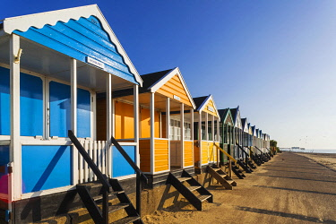 TPX71971 England, Suffolk, Southwold, Colourful Beach Huts