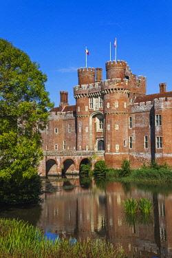 TPX72291 England, East Sussex, Hailsham, Herstmonceux, Herstmonceux Castle