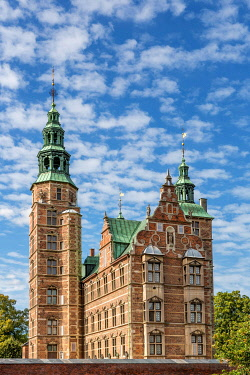 IBLKIP04234354 Rosenborg Castle, Copenhagen, Capital Region of Denmark, Denmark, Europe