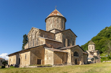 IBLPSI03661129 Church of Virgin Mary the Blessed, Gelati Monastery, UNESCO World Heritage Site, near Kutaisi, Imereti region, Georgia, Asia